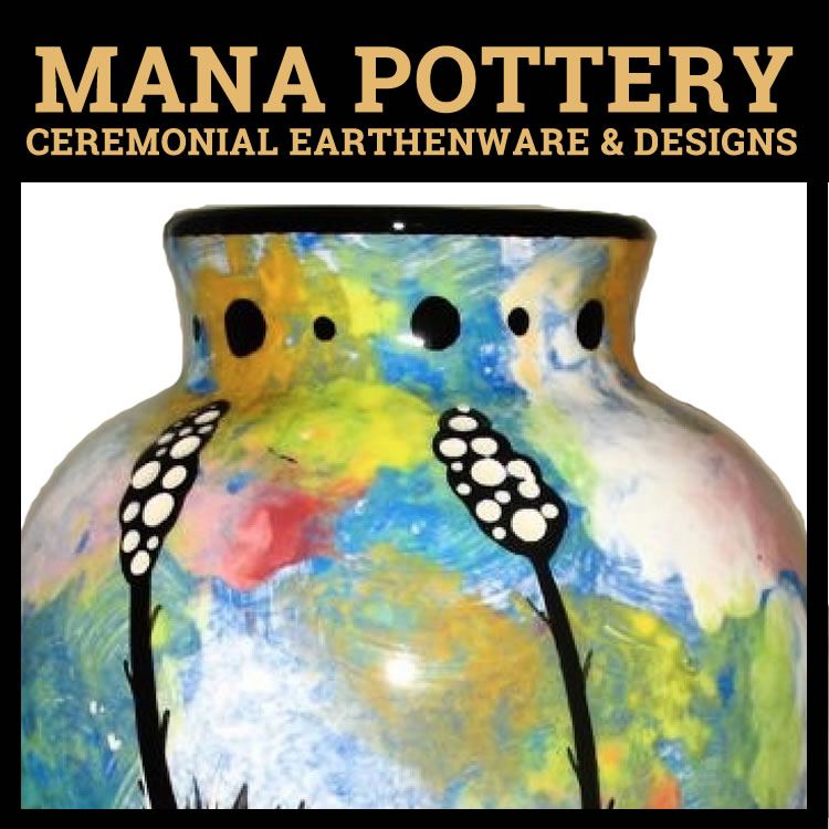Mana Pottery, Ceremonial Earthenware & Designs